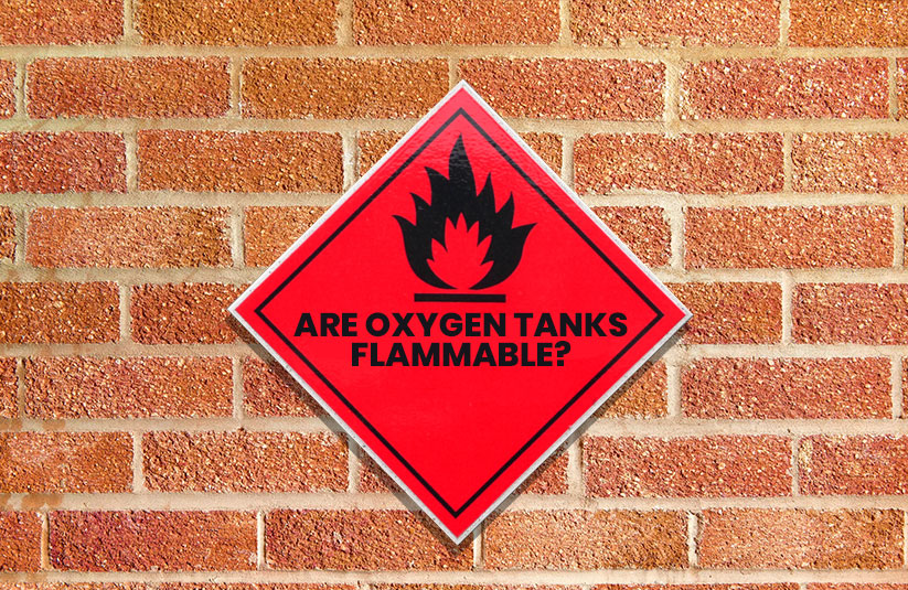 Are Oxygen Tanks Flammable